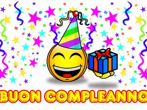 Biglietto D Auguri Di Compleanno Smile