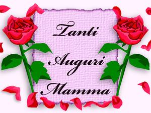 Biglietto Dauguri Per La Festa Della Mamma Rose E Auguri