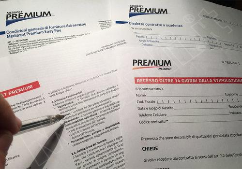MODULO DISDETTA MEDIASET PREMIUM EASY PAY SCARICA