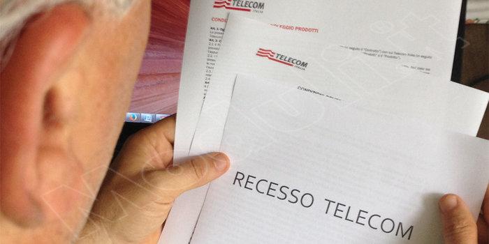 Disdetta Telecom, Disdetta Telecom Italia