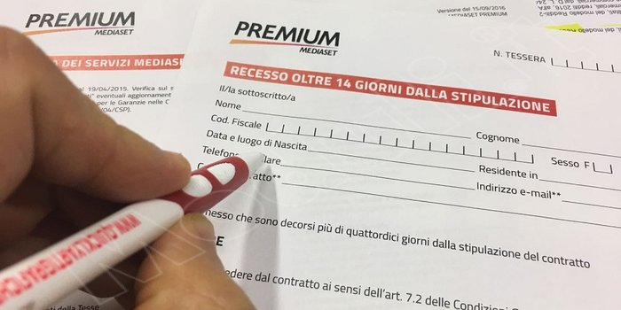 disdetta immediata mediaset premium, disdetta immediata a mediaset premium