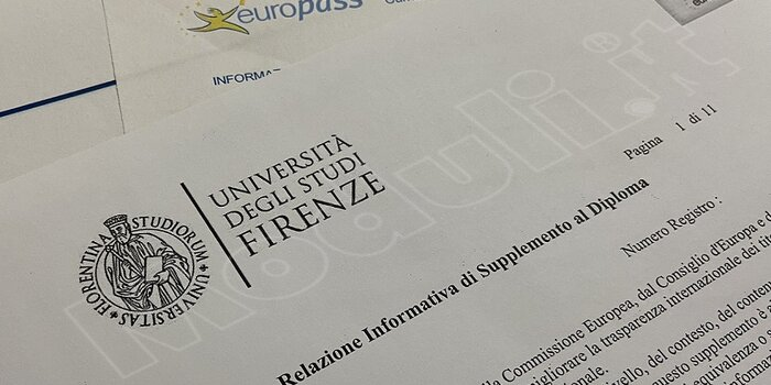Europass Supplemento al Diploma